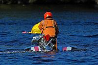 312-J falls victum to a slipping motor. (hydro)