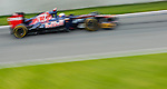 Scuderia Toro Rosso driver Daniel Ricciardo of Australia speeds his car during the F1 Grand Prix du Canada at the Circuit Gilles-Villeneuve on June 08, 2012 in Montreal, Canada. Photo by Victor Fraile / The Power of Sport Images
