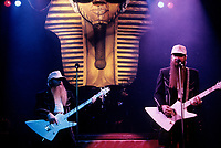 FILE -  ZZ TOP<br /> <br /> ,  circa 1985<br /> <br /> <br /> PHOTO :  Harold Beaulieu<br />  - Agence Quebec Presse