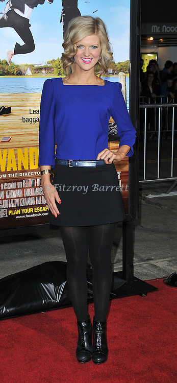 Arden Myrin at the World Premiere of Wanderlust held at the Mann Village in Westwood, CA.. February 16, 2012