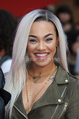LONDON, ENGLAND - APRIL 26: Karis Anderson from Stooshe attends the European premiere of Captain America: Civil War at Westfield Shopping Centre on April 26, 2016 in London, England.<br /> CAP/BEL<br /> &copy;BEL/Capital Pictures /MediaPunch ***NORTH AMERICAN AND SOUTH AMERICAN SALES ONLY***