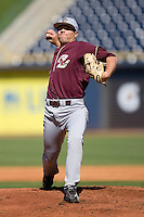 Starting pitcher John Leonard #10 of the Boston College Eagles in action versus the Florida State Seminoles at Durham Bulls Athletic Park May 20, 2009 in Durham, North Carolina. (Photo by Brian Westerholt / Four Seam Images)