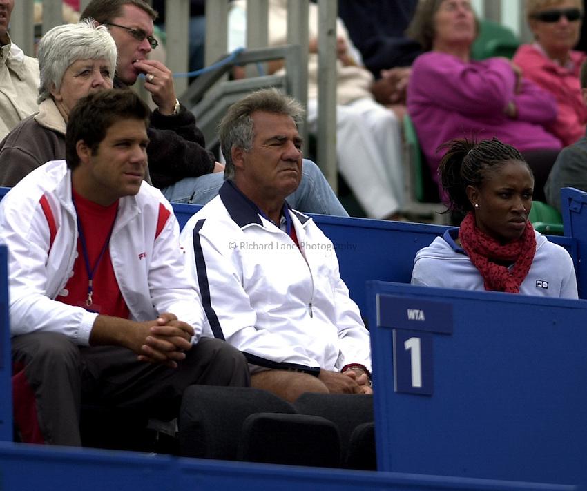 Photo: Richard Lane..Hastings Direct International Championship 2003..19/06/2003..Stephano Capriati