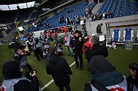 20.01.2018, Wirsol Rhein-Neckar-Arena, Sinsheim, GER, 1.FBL, TSG 1899 Hoffenheim vs Bayer 04 Leverkusen, <br />Trainer Heiko Herrlich (Leverkusen) *** Local Caption *** © pixathlon