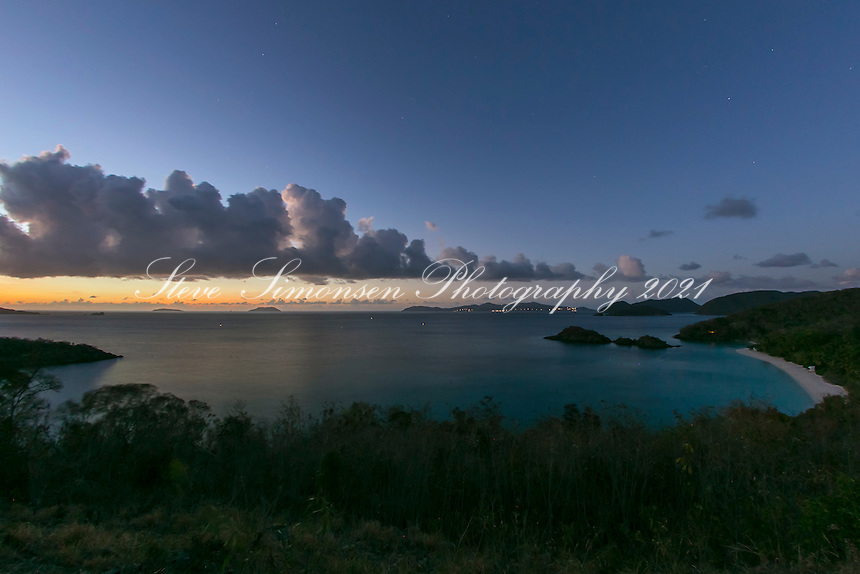 Trunk Bay Dusk<br />