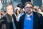 "American director William Friedkin and mexican director Guillermo del Toro attends to red carpet before the projection of film 'The Shape of Water"" during Sitges Film Festival in Barcelona, Spain October 05, 2017. (ALTERPHOTOS/Borja B.Hojas)"