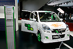 Subaru Plug-in Stella on display during the first press day for the 41th Tokyo Motor Show, 21 October 2009 in Tokyo (Japan). The TMS will be open for the public from 23 October 2007 to 4 November 2009.