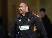 Waikato assistant coach Roger Randle during the Mitre 10 Cup rugby union match between Wellington Lions and Waikato at Westpac Stadium in Wellington, New Zealand on Saturday, 15 October 2016. Photo: Dave Lintott / lintottphoto.co.nz