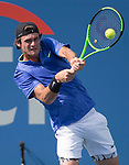 Tommy Paul (USA) defeated Casper Rudd (NOR) 3-6, 7-5, 3-0,