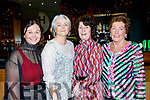 The Ardfert Golf Club Society annual dinner at the Ballyroe Heights hotel, Tralee last Saturday night, attending were L-R Kathleen Finnigan, Paula O'Sullivan, Margaret Lawlor and Eleanor Dowd.