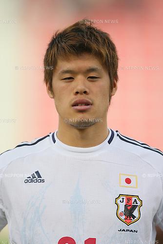 Hiroki Sakai (JPN), <br /> JUNE 11, 2013 - Football / Soccer : <br /> FIFA World Cup Brazil 2014 Asian Qualifier <br /> Final Round Group B <br /> between Iraq 0-1 Japan <br /> at Al-Arabi Stadium, Doha, Qatar. <br /> (Photo by YUTAKA/AFLO SPORT)