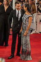 Ewan McGregor and Jennifer Conelly attends the American Pastoral premiere during the 64th San Sebastian Film Festival at Kursal in San Sebastian, Spain. . Credit: Jimmy Olsen/MediaPunch ***NO SPAIN***