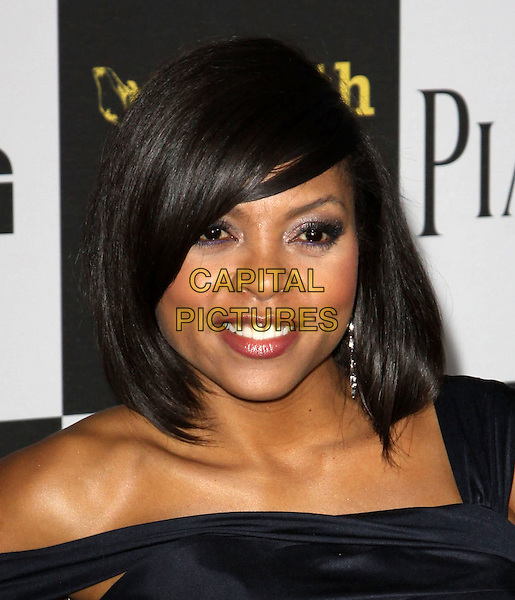 TARAJI P. HENSON .25th Annual Film Independent Spirit Awards held At The Nokia LA Live, Los Angeles, California, USA,.March 5th, 2010 ..arrivals Indie Spirit portrait headshot black  dangly earring make-up.CAP/ADM/KB.©Kevan Brooks/Admedia/Capital Pictures