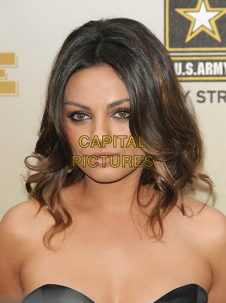 MILA KUNIS .at The 2009 Spike TV Guy's Choice Awards held at Sony Picture Studios in Culver City, California, May 30th 2009.                                                                     .portrait headshot strapless black bustier .CAP/DVS.©Debbie VanStory/RockinExposures/Capital Pictures