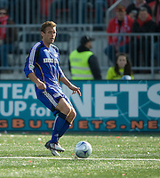 26 April 2009: Kansas City Wizards defender Jimmy Conrad #12 in action at BMO Field in Toronto in a  game between Kansas City Wizards and Toronto FC..Toronto FC won 1-0.