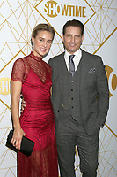 LOS ANGELES - SEP 21:  Lily Anne Harrison, Peter Facinelli at the Showtime Emmy Eve Party at the San Vicente Bungalows on September 21, 2019 in West Hollywood, CA