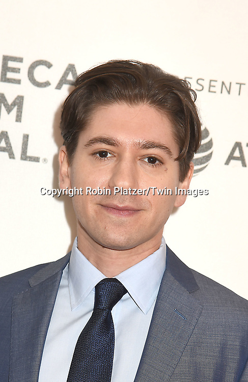 "Michael Zegen attends ""The Seagull"" Screening at the Tribecca Film Festival at BMCC on April 21, 2018 in New York City, New York, USA.<br /> <br /> photo by Robin Platzer/Twin Images<br />  <br /> phone number 212-935-0770"