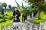 Comoraoh 1916 Centenary Commemoration Caption Jack O'Reilly by the Tralee Irish Volunteer Group at Old Rath on Sunday