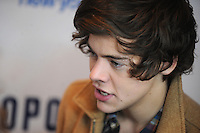 NEW YORK, NY - DECEMBER 07: Harry Styles of One Direction at Z100's Jingle Ball 2012, presented by Aeropostale, at Madison Square Garden on December 7, 2012 in New York City. NortePhoto