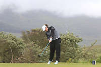 Emily Toy (ENG) on the 3rd tee during Matchplay Semi-Finals of the Women's Amateur Championship at Royal County Down Golf Club in Newcastle Co. Down on Saturday 15th June 2019.<br /> Picture:  Thos Caffrey / www.golffile.ie