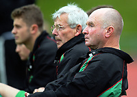 Wairarapa coach Phil Keinzley during the Central League football match between Wellington United and Wairarapa United at Newtown Park in Wellington, New Zealand on Saturday, 29 April 2017. Photo: Dave Lintott / lintottphoto.co.nz
