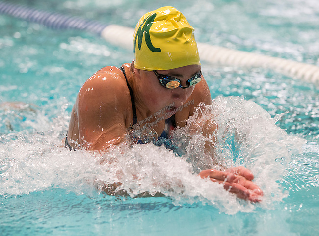 Manogue's Donna Depolo finished second in the girls 4A 200 yard IM race during the State Swimming Meet in Carson City on Saturday, May 20, 2017.