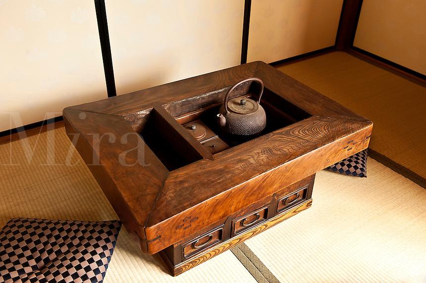 Japanese tea room.