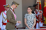 King Felipe VI of Spain and Queen Letizia of Spain attend the Armed Forces Day. May 27 ,2017. (ALTERPHOTOS/Acero)