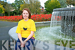 Julie Deane, Ballymac pictured in Tralee Town Park on Saturday in training for her first Dublin City marathon this coming weekend, she is running for the Kerry Hospice Foundation.