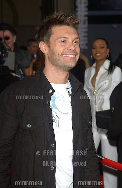 RYAN SEACREST at the 31st Annual American Music Awards in Los Angeles..November 16, 2003