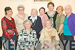 Party time: Members of the Ballyduff Active Retirement group Buds Family Resource Centre Tea Dance and art exhibition in Ballyduff on Monday. Front Beth Dowling and Peggy McCarthy. Back l-r Margaret O'Brien, Julie Sheehy, Mary O'Regan, Kathleen O'Mahoney, Anne Slattery, Doreen O'Connor and Cora Dunne.