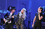 Sean Lennon,Lady Gaga and Perry Farrell performs with We are Plastic Ono Band on night 2 at The Orpheum Theatre in Downtown Los Angeles, California on October 02,2010                                                                   Copyright 2010  Debbie VanStory / RockinExposures