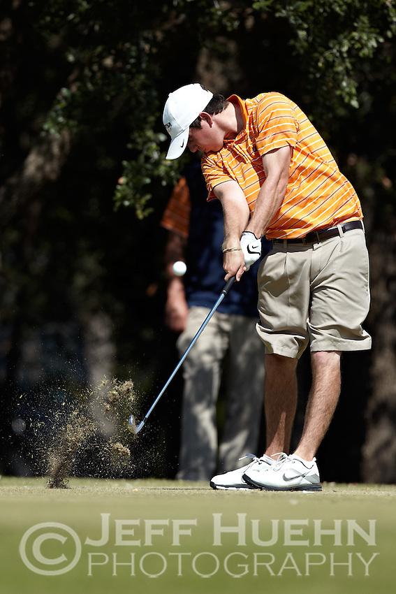 SAN ANTONIO, TX - October 17, 2010: The University of Texas at San Antonio Roadrunners host the Lone Star Invitational Golf Tournament at the Briggs Ranch Golf Club. (Photo by Jeff Huehn)