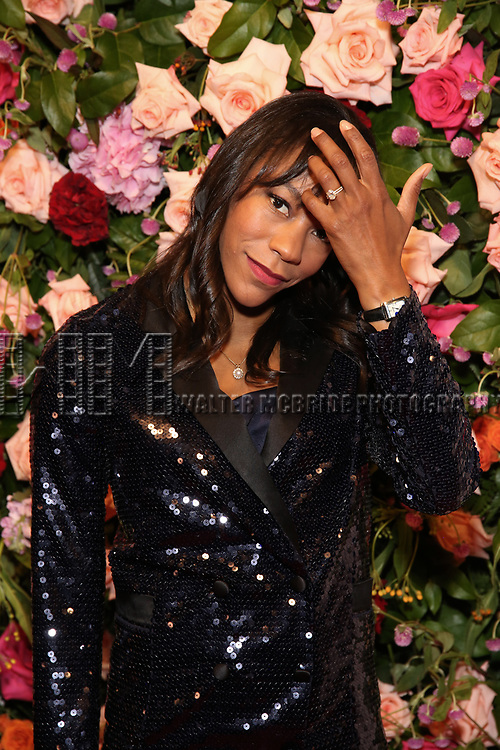 Nikki M. James attends The American Theatre Wing's 2019 Gala at Cipriani 42nd Street on September 16, 2019 in New York City.