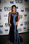 Sara Ramirez (Grey's Anatomy and ATWT) wearing Angel Sanchez and David Meisler is special guest at Broadway Takes the Runway which benefits Al D. Rodriguez Liver Foundation on October 4, 2010 at Touch, New York City, New York. (Photo by Sue Coflin/Max Photos)