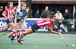 AMSTELVEEN - Renee van den Brand (HDM)   Hoofdklasse competitie dames, Hurley-HDM (2-0) . FOTO KOEN SUYK