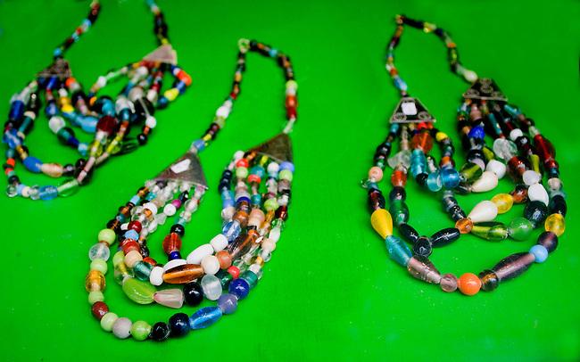 Beaded Necklaces, Rouge Shop, Pigalle, Paris, France, Europe