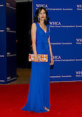 Huma Abedin arrives for the 2015 White House Correspondents Association Annual Dinner at the Washington Hilton Hotel on Saturday, April 25, 2015.<br /> Credit: Ron Sachs / CNP