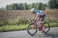 Italian national champion Giacomo Nizzolo (ITA/Trek-Segafredo)<br /> <br /> 12th Eneco Tour 2016 (UCI World Tour)<br /> stage 3: Blankenberge-Ardooie (182km)