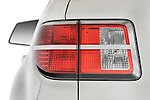 Tail light close up detail view of a 2008 Saturn Outlook XR