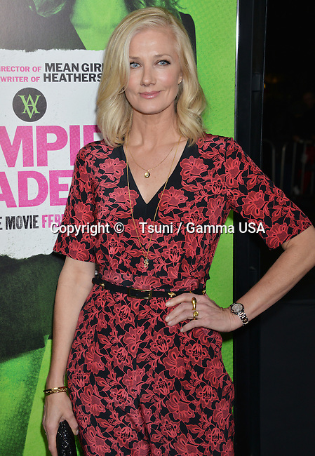 Joely Richardson 192 arriving at Vampire Academy Premiere at the REGAL Theatre In Los Angeles.