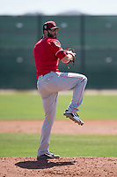Cincinnati Reds starting pitcher Cody Reed (25) during a Minor League Spring Training game against the Chicago White Sox at the Cincinnati Reds Training Complex on March 28, 2018 in Goodyear, Arizona. (Zachary Lucy/Four Seam Images)