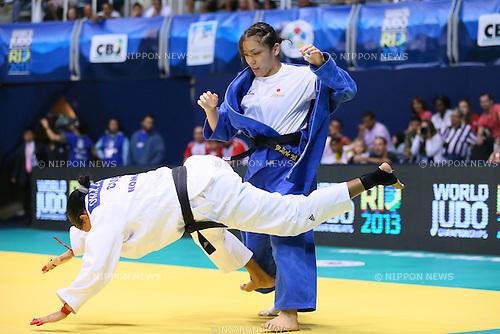 Haruka Tachimoto (JPN), <br /> AUGUST 30, 2013 - Judo : <br /> 2013 Judo World Championships Rio de Janeiro <br /> Women's -70kg <br /> at Maracanazinho Arena, Rio de Janeiro, Brazil. <br /> (Photo by YUTAKA/AFLO SPORT) [1040]