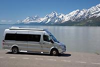 RV at Jackson Lake, Grand Teton National Park