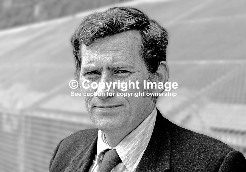 Seamus Mallon, candidate, SDLP, Armagh, N Ireland, Assembly Election, 197306000410.<br />