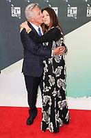 Dustin Hoffman &amp; wife Lisa Hoffman at the London Film Festival 2017 screening of &quot;The Meyerowitz Stories&quot; at the Embankment Gardens Cinema, London, UK. <br /> 07 October  2017<br /> Picture: Steve Vas/Featureflash/SilverHub 0208 004 5359 sales@silverhubmedia.com
