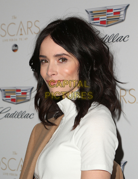 West Hollywood, CA - February 23: Abigail Spencer, At Cadillac Celebrates Oscar Week 2017, At Chateau Marmont In California on February 23, 2017. <br /> CAP/MPI/FS<br /> &copy;FS/MPI/Capital Pictures