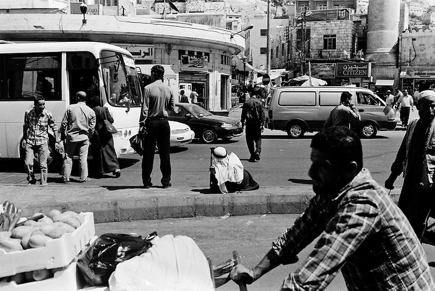 Downtown Amman, Jordan, August 2009. Photo: Ed Giles.