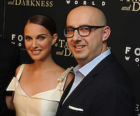 """NEW YORK, NY - August 15 :Natalie Portman and Peter Kujawski attend the New York screening for """" A )Tale of Love and Darkness"""" on august 15, 2016 at the Crosby Hotel in New York City.  Photo Credit:John Palmer/ MediaPunch"""