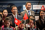 Hong Kong Equestrian Federation President Michael Lee attends Kids arrival at Longines Hong Kong Masters 2015 at the Asiaworld Expo on 13 February 2015 in Hong Kong, China. Photo by Jerome Favre / Power Sport Images